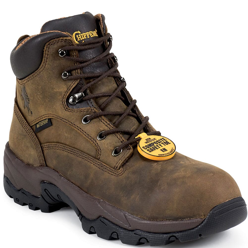 Image for Chippewa Men's WP COMP Safety Boots - Bay Apache from bootbay