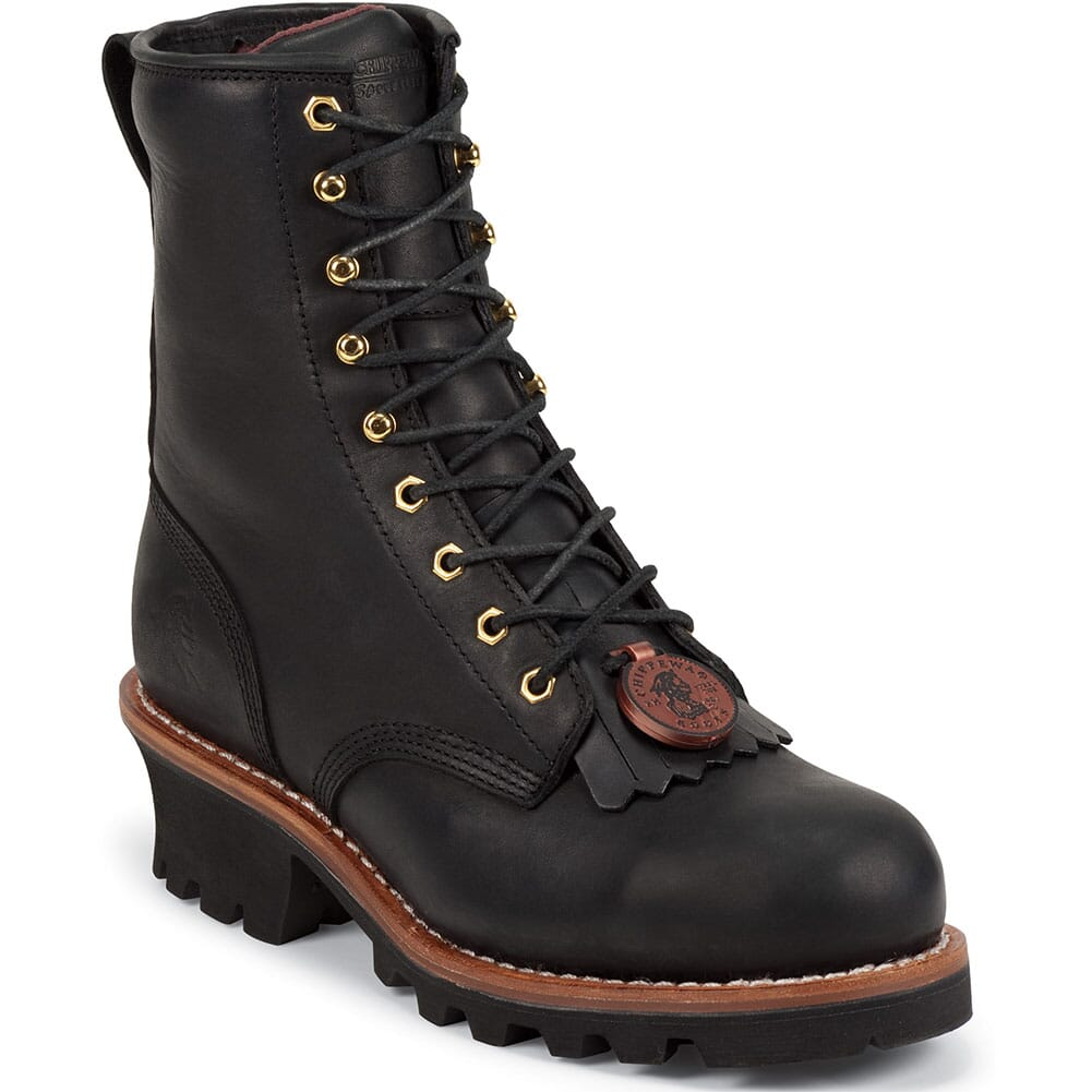 Image for Chippewa Men's Baldoor Safety Loggers - Black from bootbay