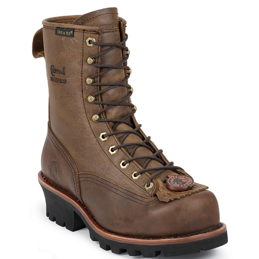 Image for Chippewa Men's Paladin WP Safety Loggers - Bay Apache from bootbay