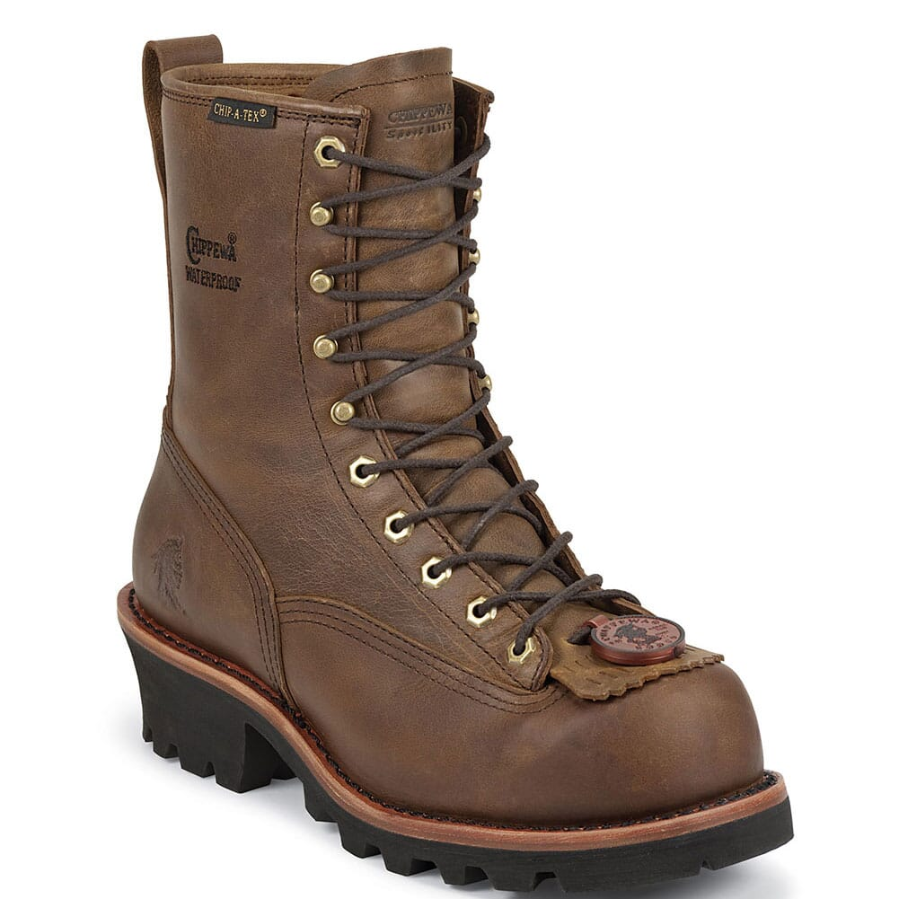 Image for Chippewa Men's Paladin WP Insulated Safety Logger - Bay Apache from bootbay