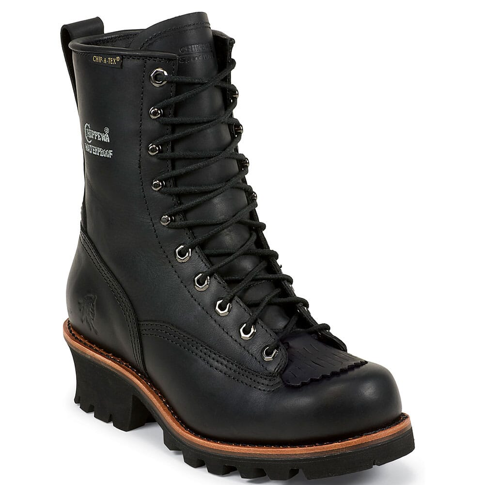 Image for Chippewa Men's Paladin Safety Loggers - Black from bootbay