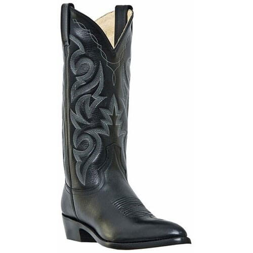 Image for Dan Post Men's Milwaukee Narrow Toe Western Boots - Black from bootbay