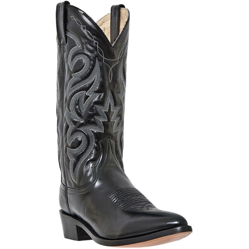 Image for Dan Post Men's Milwaukee Western Boots - Black from bootbay