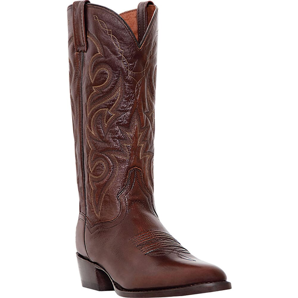 Image for Dan Post Men's Milwaukee Western Boots - Antique Tan from bootbay