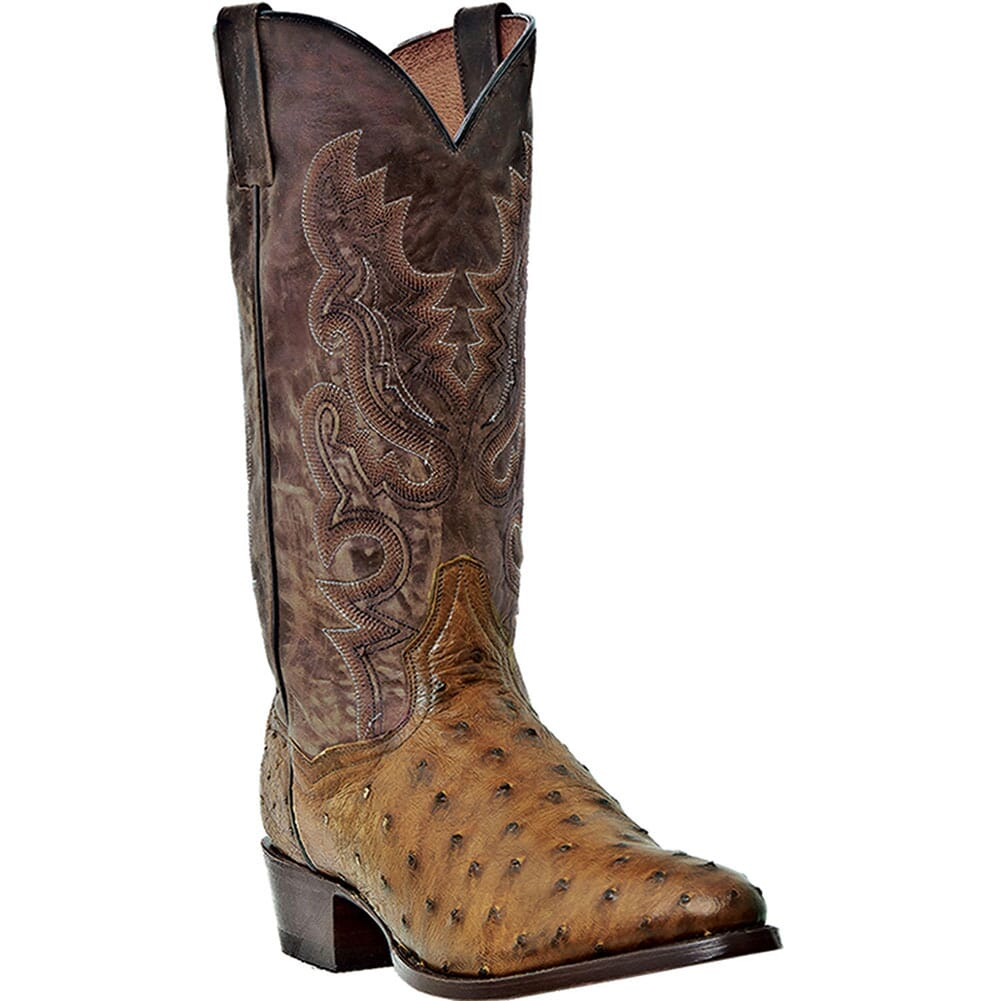 Image for Dan Post Men's Tempe RT Western Boots - Tan from bootbay