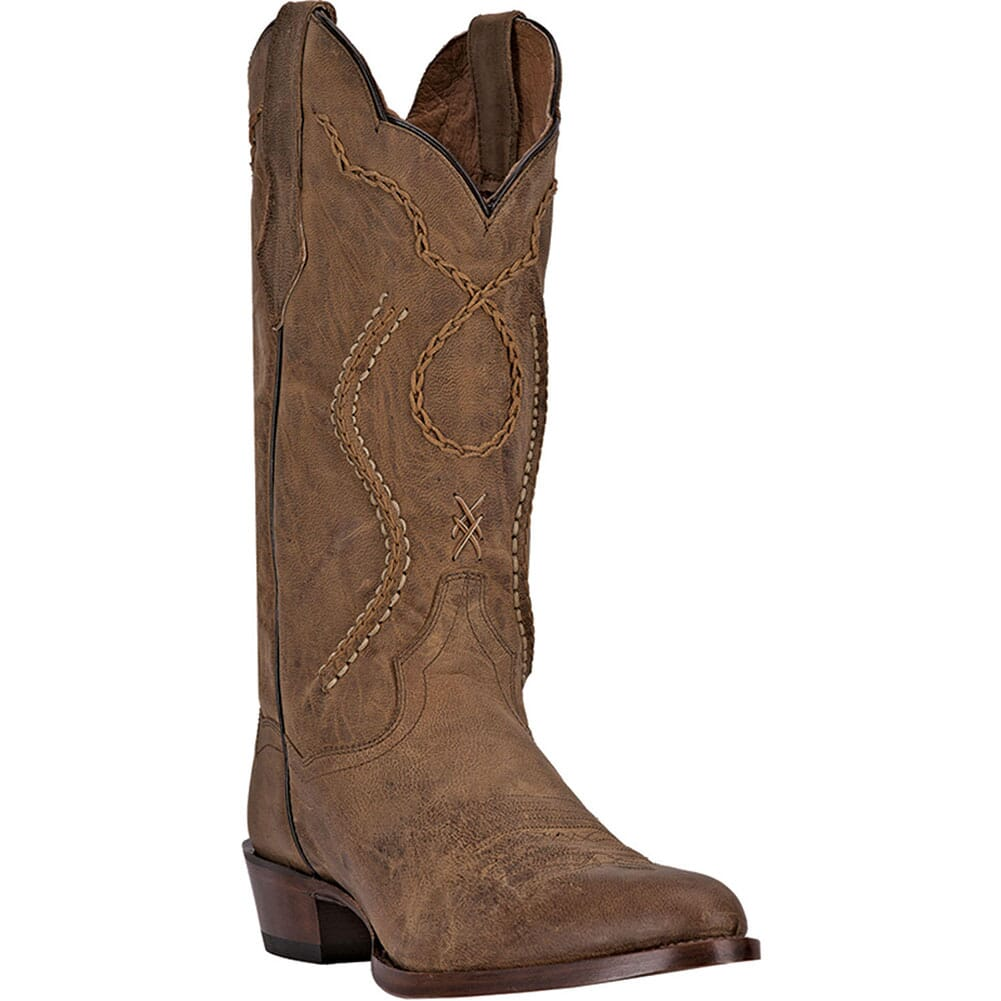 Image for Dan Post Men's Albany Western Boots - Tan from bootbay