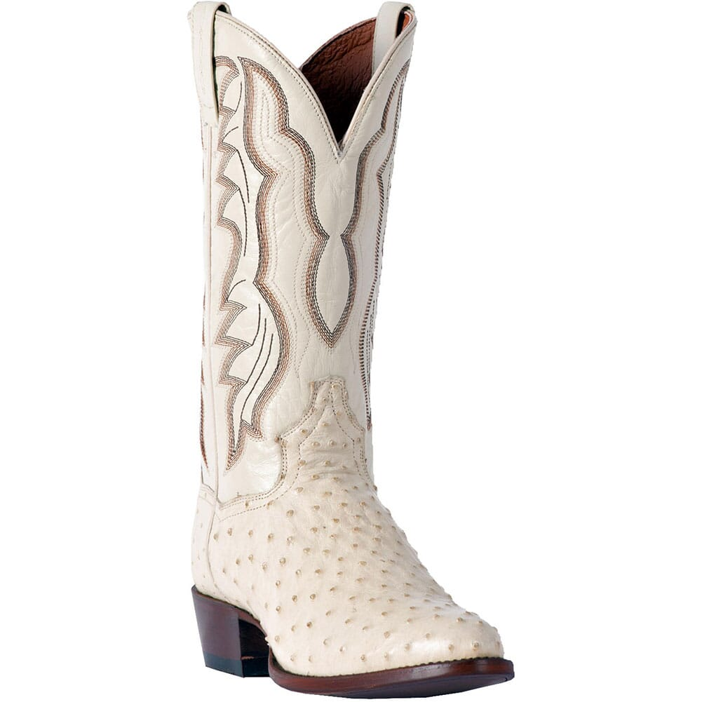 Image for Dan Post Men's Pershing Western Boots - Winter White from bootbay
