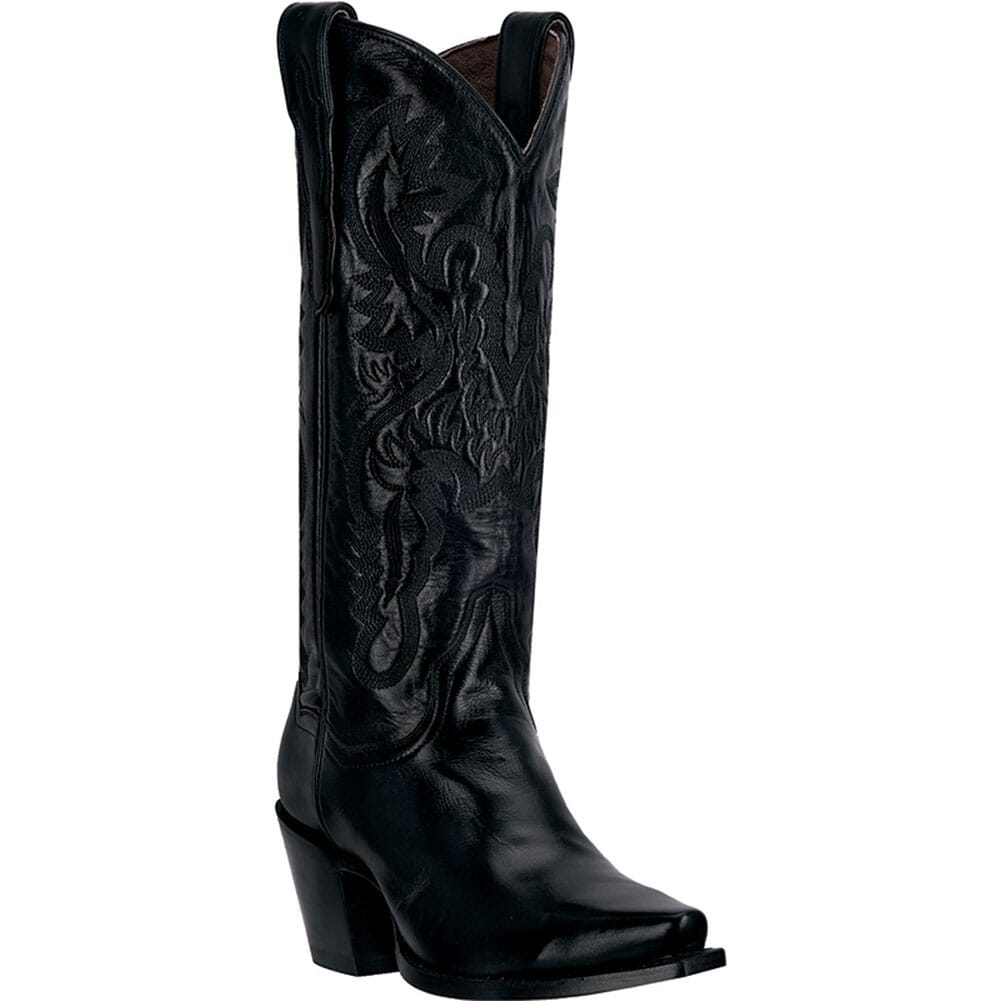 Image for Dan Post Women's Fashion Western Boots - Black from elliottsboots