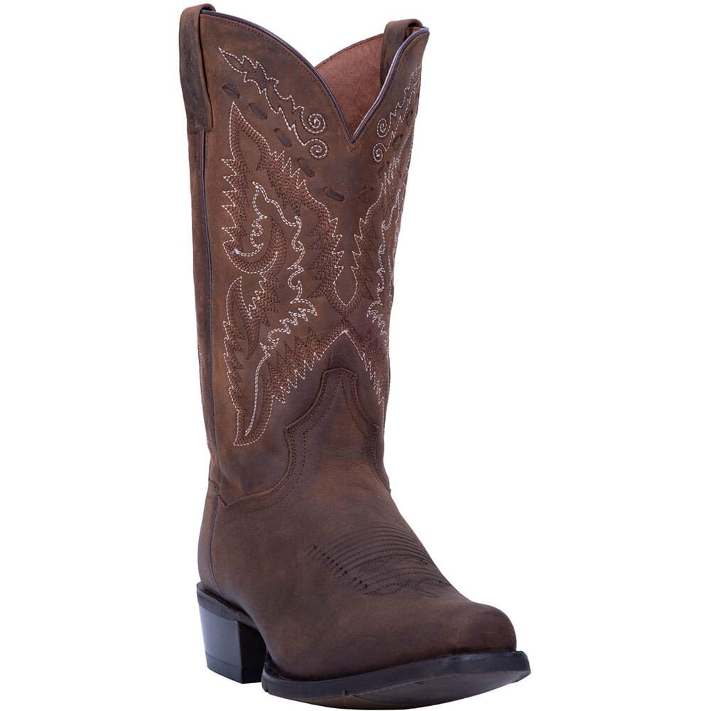 Image for Dan Post Men's Canyon Run Western Boots - Bay Apache from bootbay