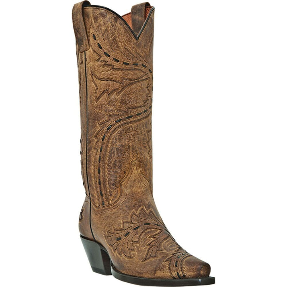 Image for Dan Post Women's Sidewinder 13IN Western - Tan from bootbay