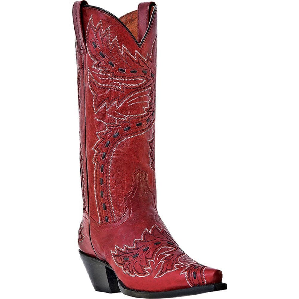 Image for Dan Post Women's Sidewinder Cowboy Boots - Red from elliottsboots