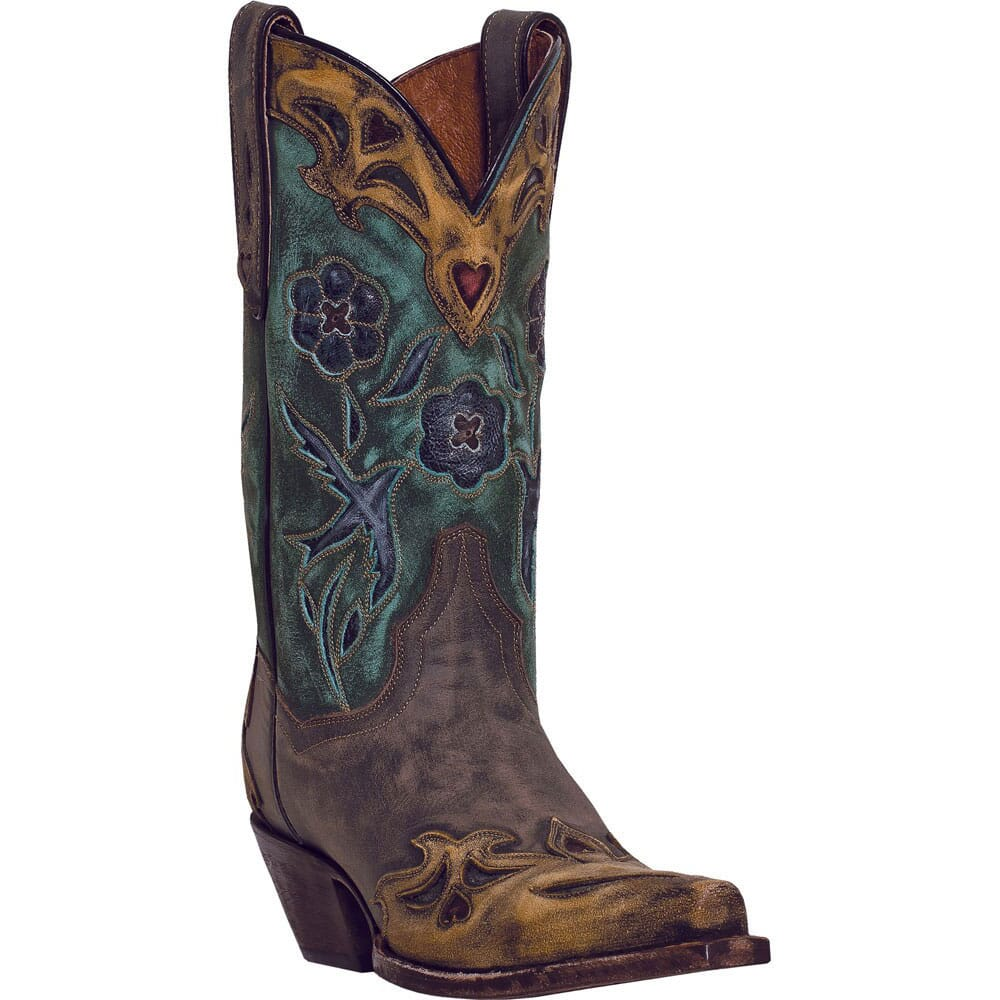 Image for Dan Post Women's Vintage Bluebird Western Boots - Brown from bootbay