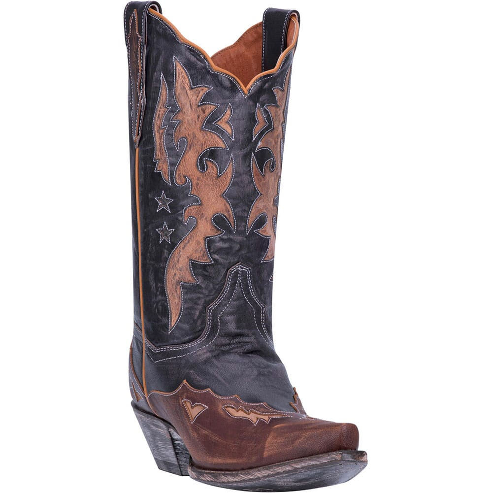 Image for Dan Post Women's Amelia Western Boots - Chocolate from elliottsboots