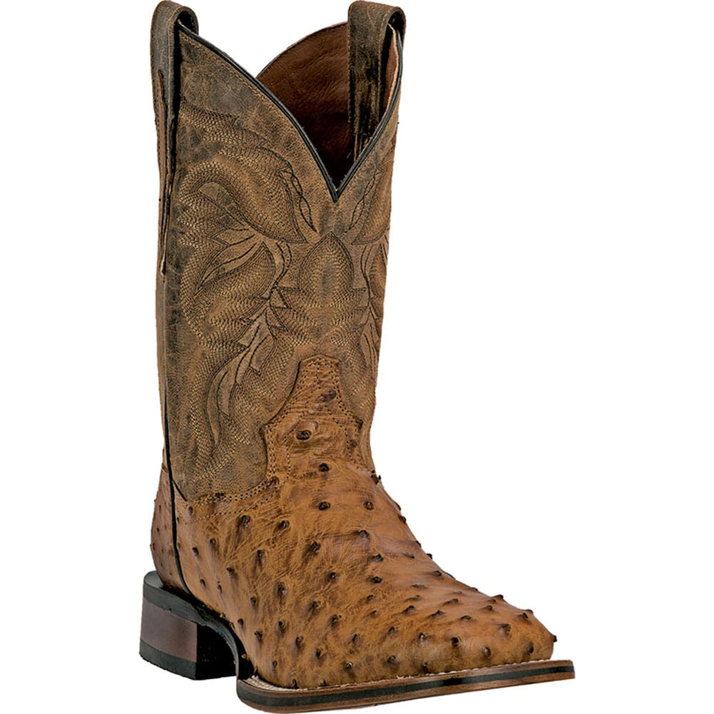 Image for Dan Post Men's Alamosa Western Boots - Tan Mad Dog from bootbay