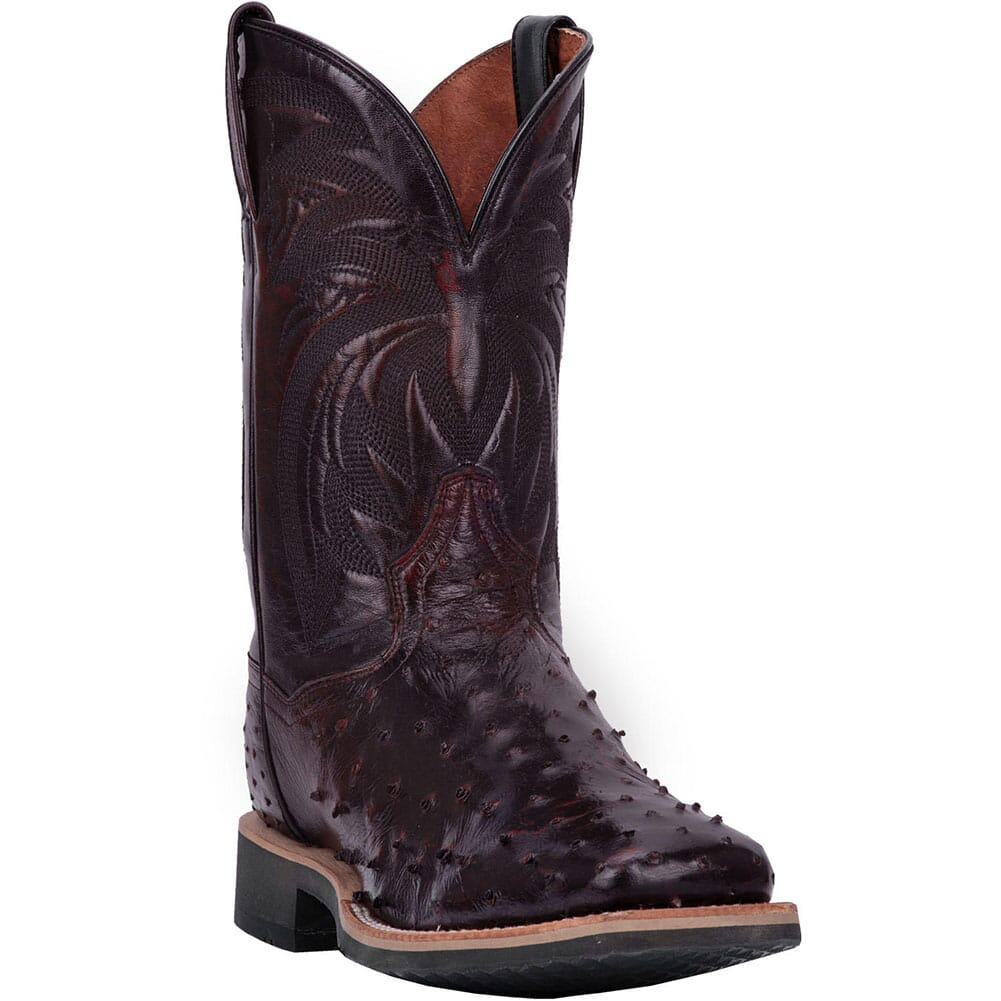 Image for Dan Post Men's Philsgood Western Boots - Black Cherry from bootbay