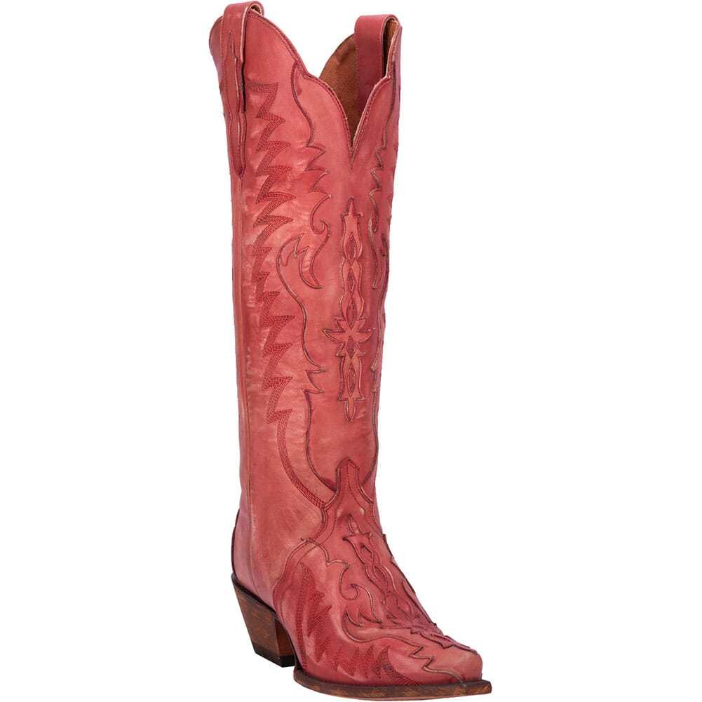 Image for Dan Post Women's Hallie Western Boots - Red from elliottsboots