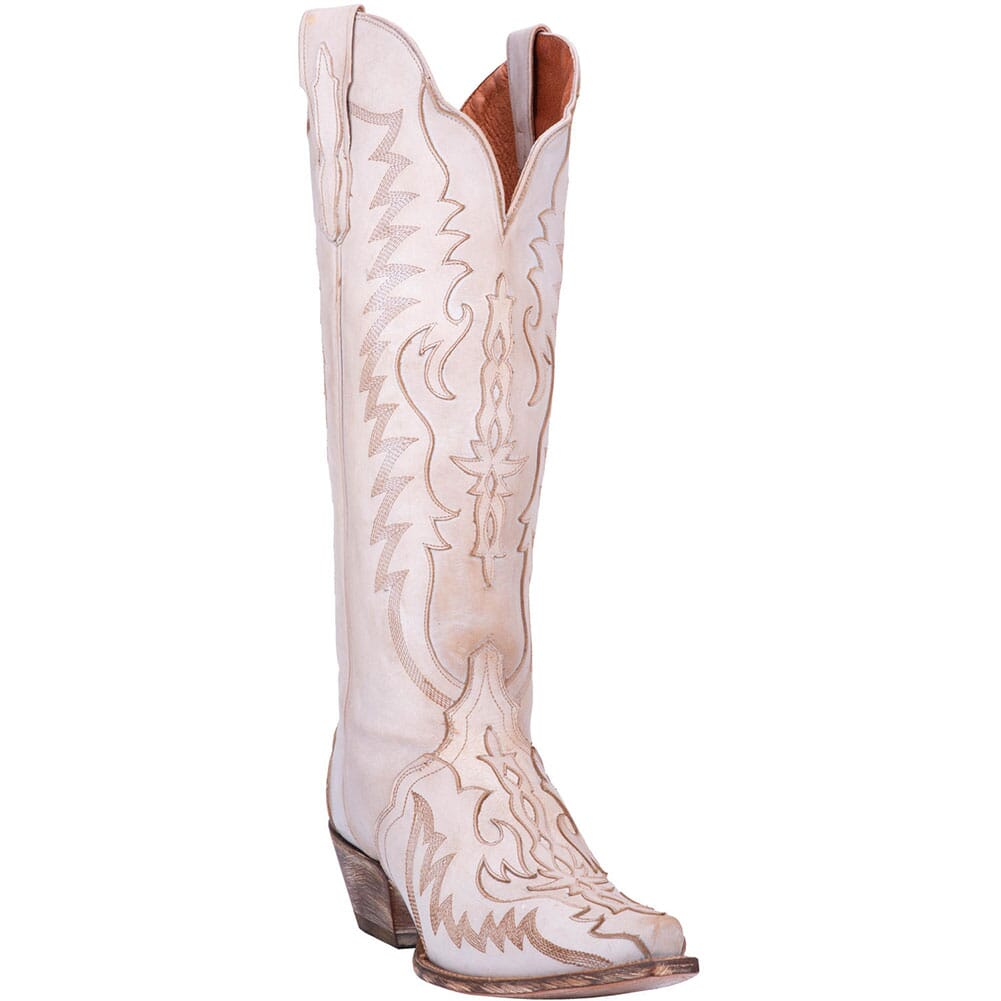 Image for Dan Post Women's Hallie Western Boots - Bone from bootbay