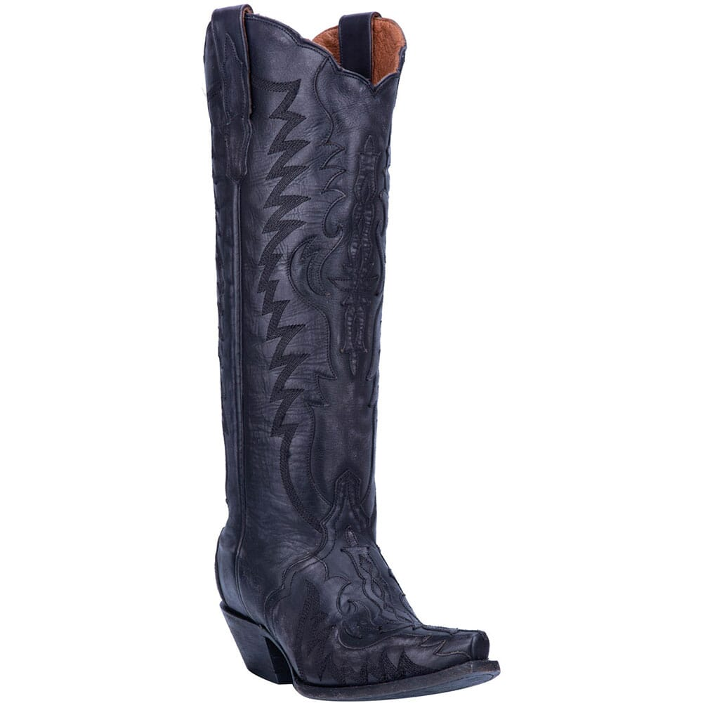 Image for Dan Post Women's Hallie Western Boots - Black from bootbay
