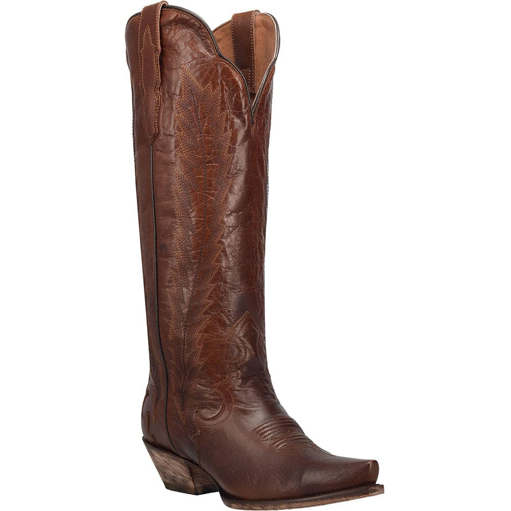 Image for Dan Post Women's Valeria Casual Boots - Cognac from elliottsboots