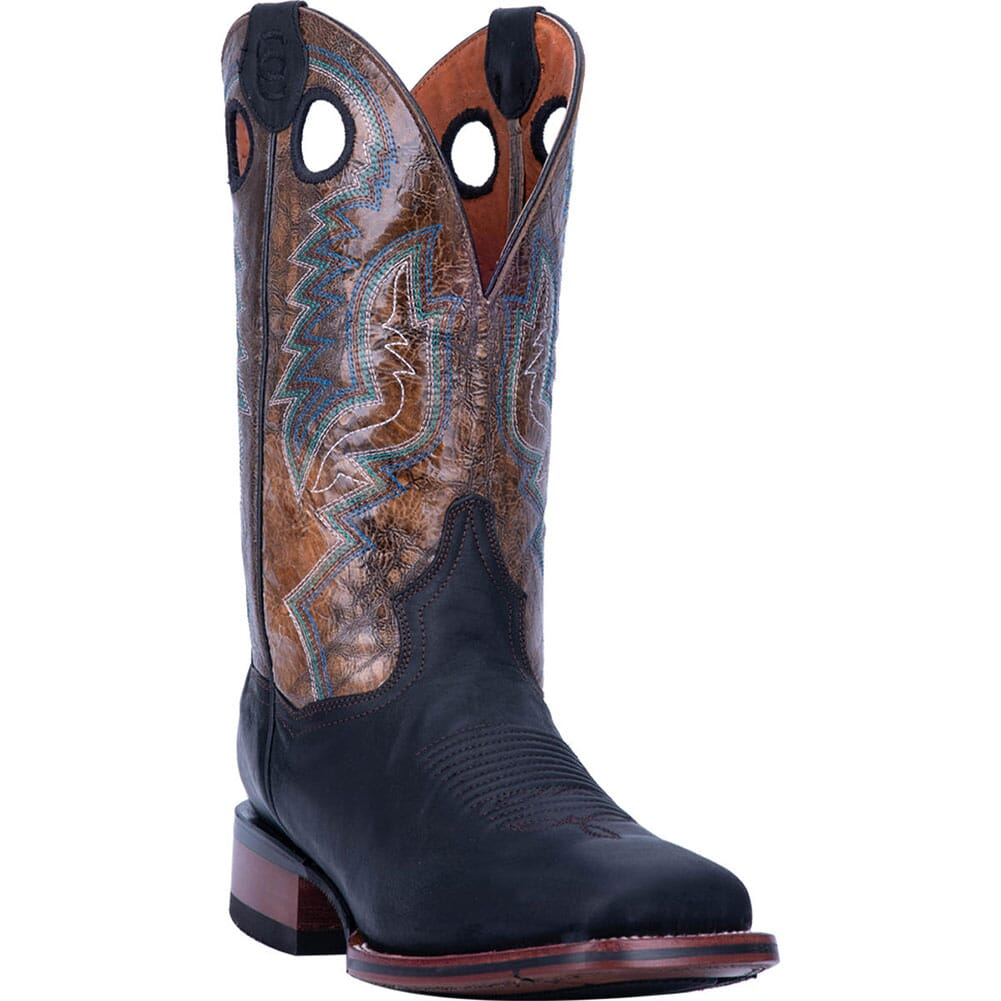 Image for Dan Post Men's Deuce Western Boots - Black/Brown from bootbay