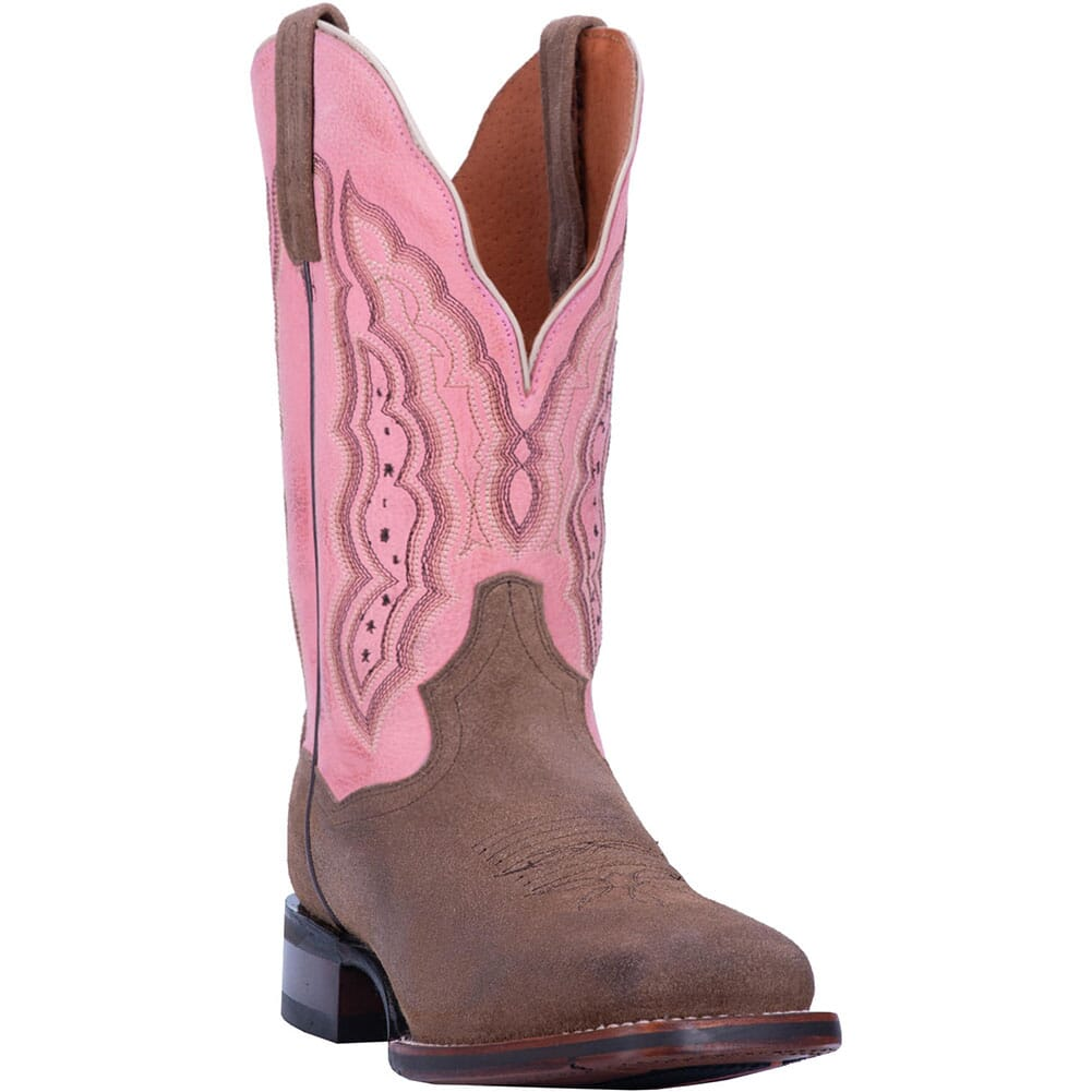 Image for Dan Post Women's Claire Western Boots - Pink/Sand from bootbay