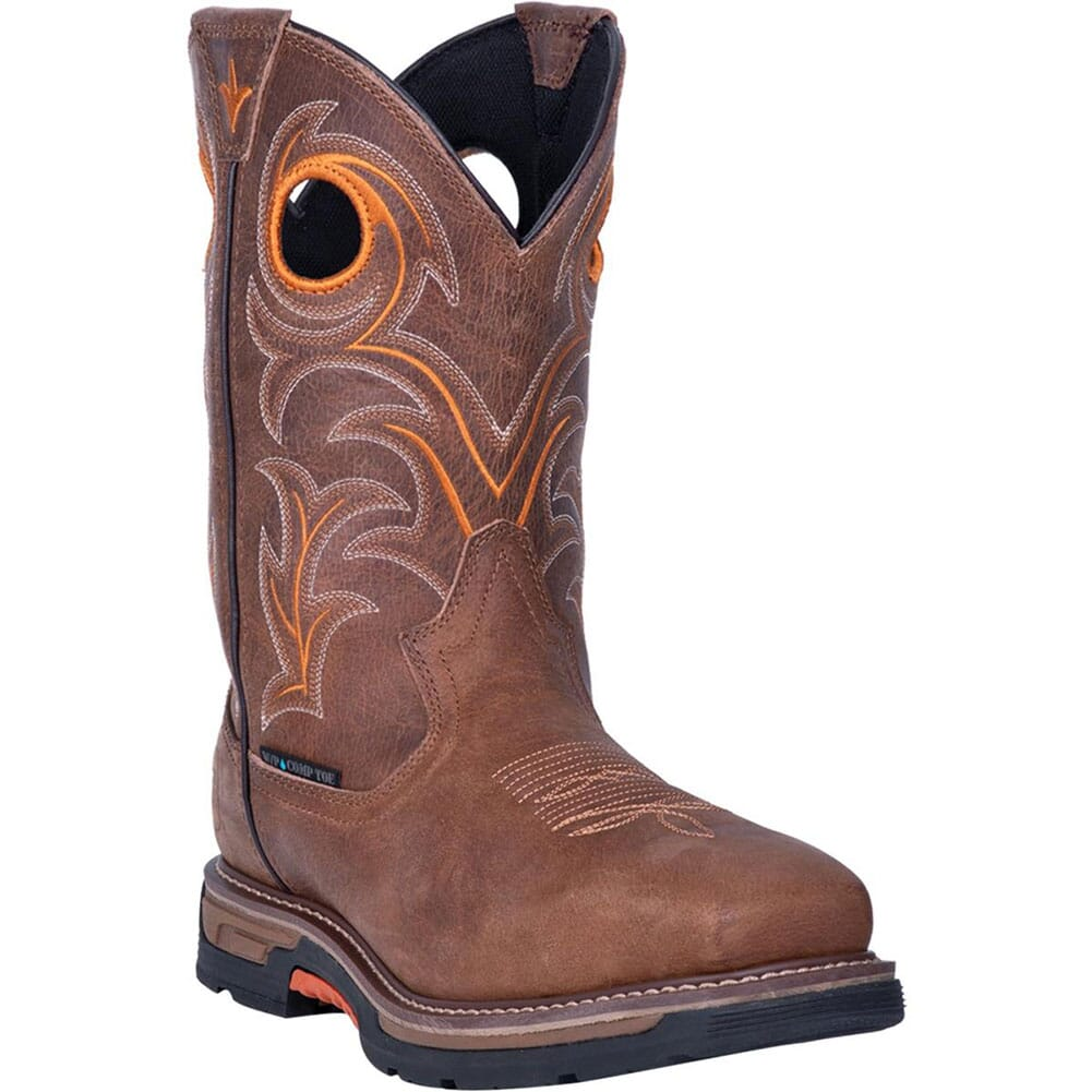 Image for Dan Post Men's Storm Eye EH WP Safety Boots - Brown from bootbay