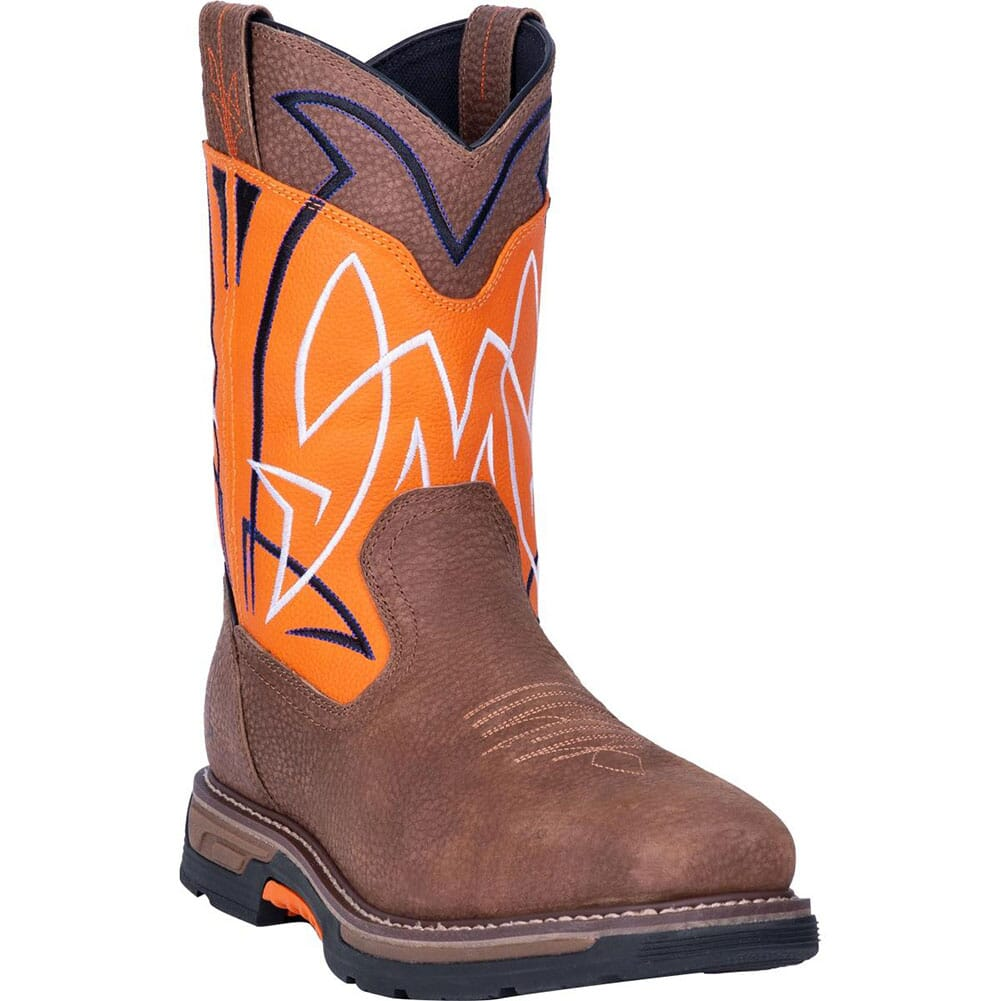 Image for Dan Post Men's Storm Surge WP Safety Boots - Orange/Brown from bootbay