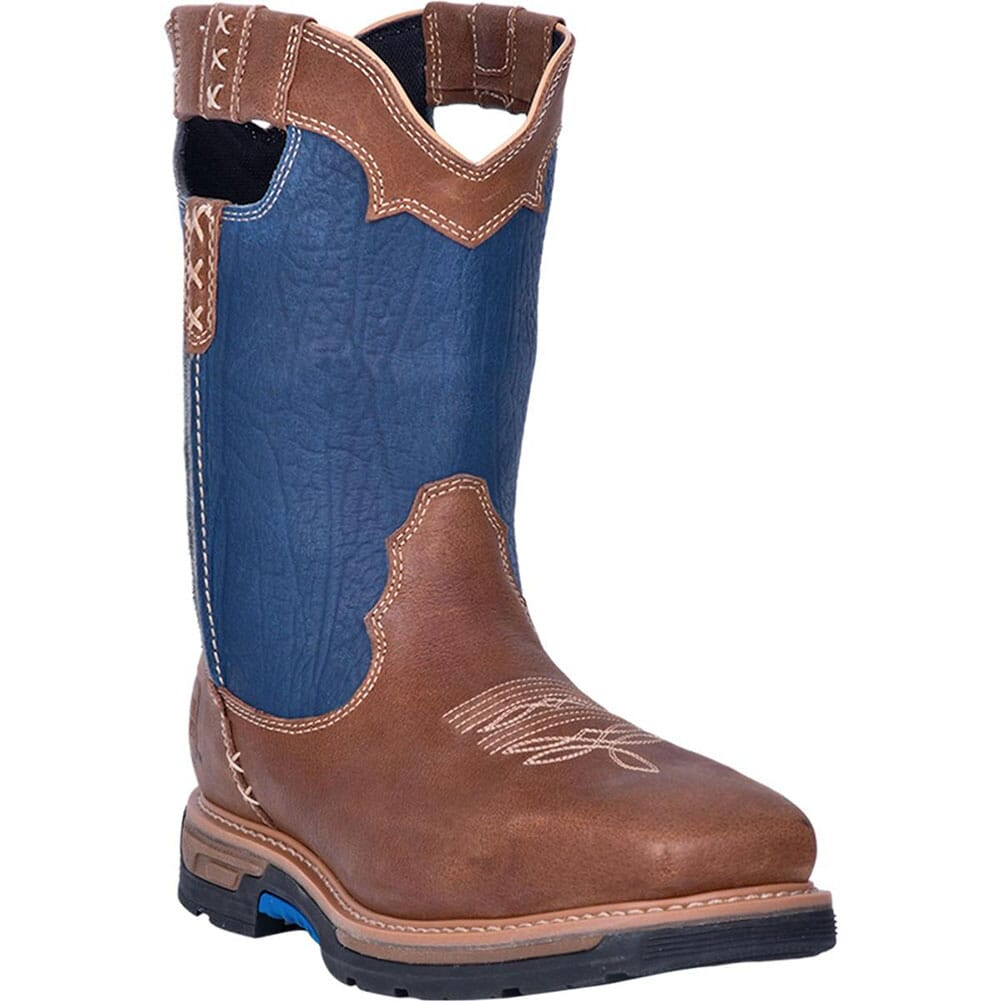 Image for Dan Post Men's Scoop WP Safety Boots - Denim/Brown from bootbay