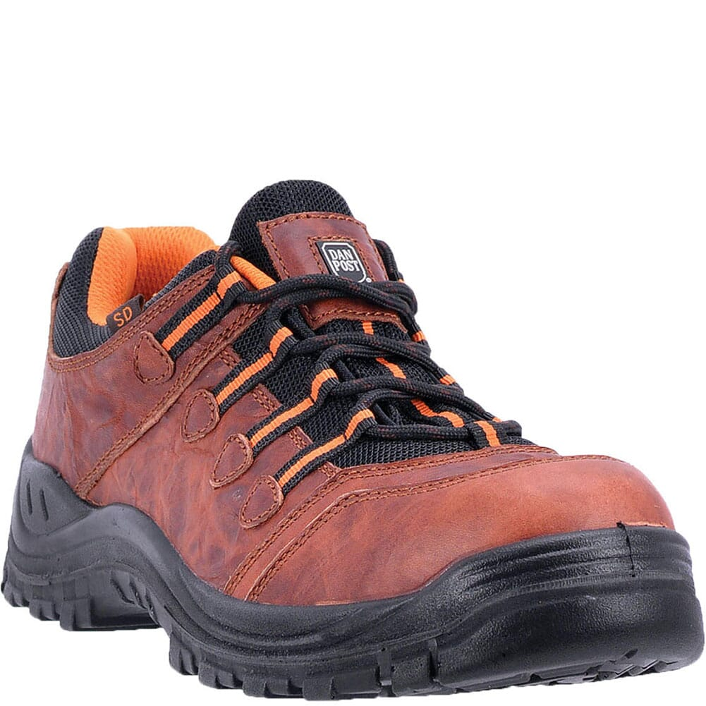 Image for Dan Post Men's Blue Ridge Safety Shoes - Oxblood from bootbay