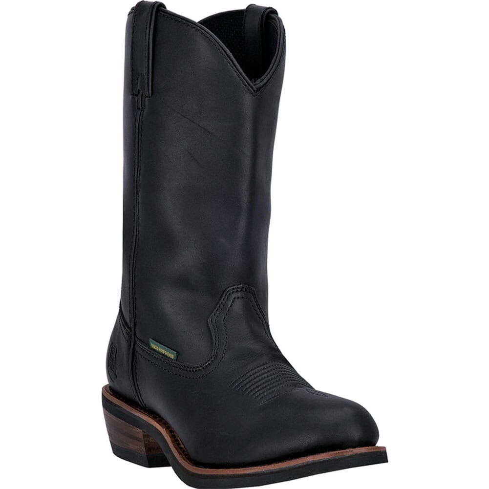 Image for Dan Post Men's Waterproof Work Boots - Black from elliottsboots