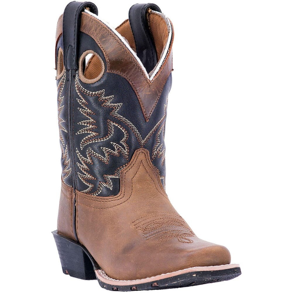 Image for Dan Post Youth Rascal Western Boots - Brown/Black from bootbay