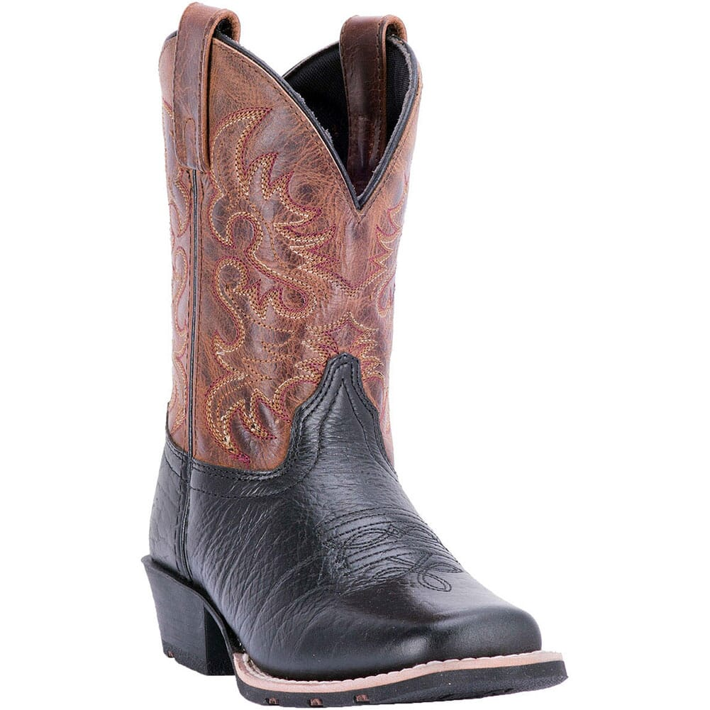 Image for Dan Post Youth Little River Western Boots - Brown/Black from bootbay