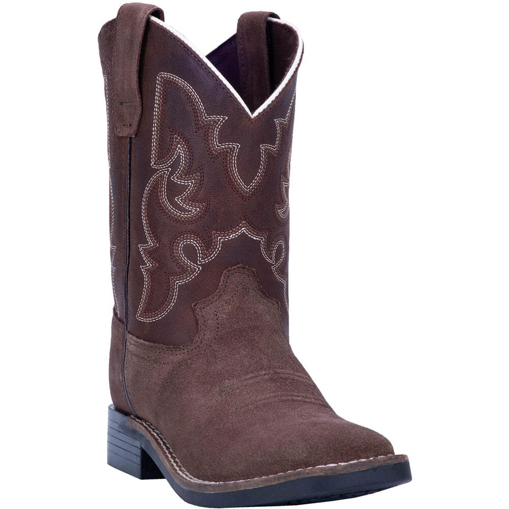 Image for Dan Post Youth Davie Western Boots - Brown from bootbay