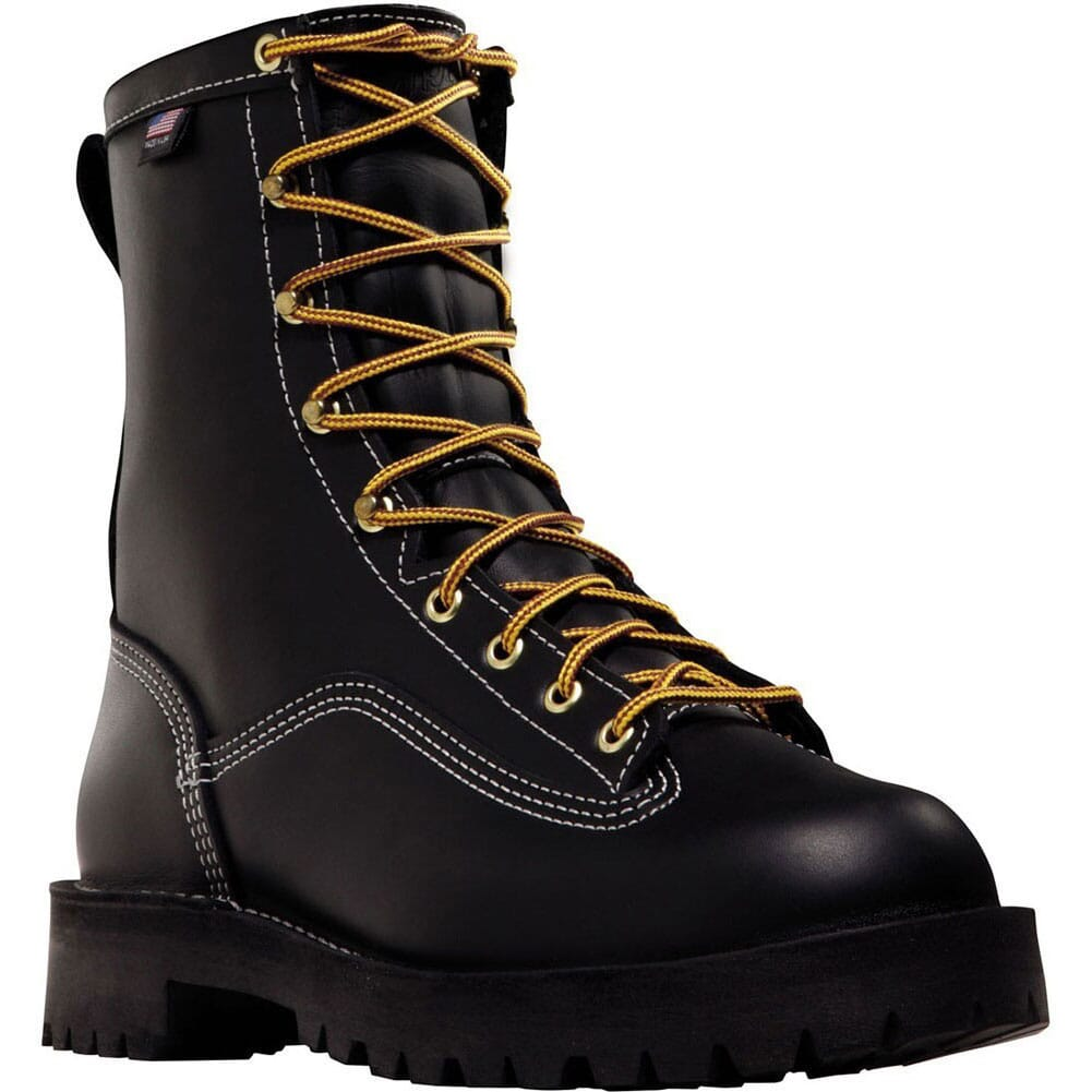 Image for Danner Men's Super Rain Forest Safety Boots - Black from bootbay