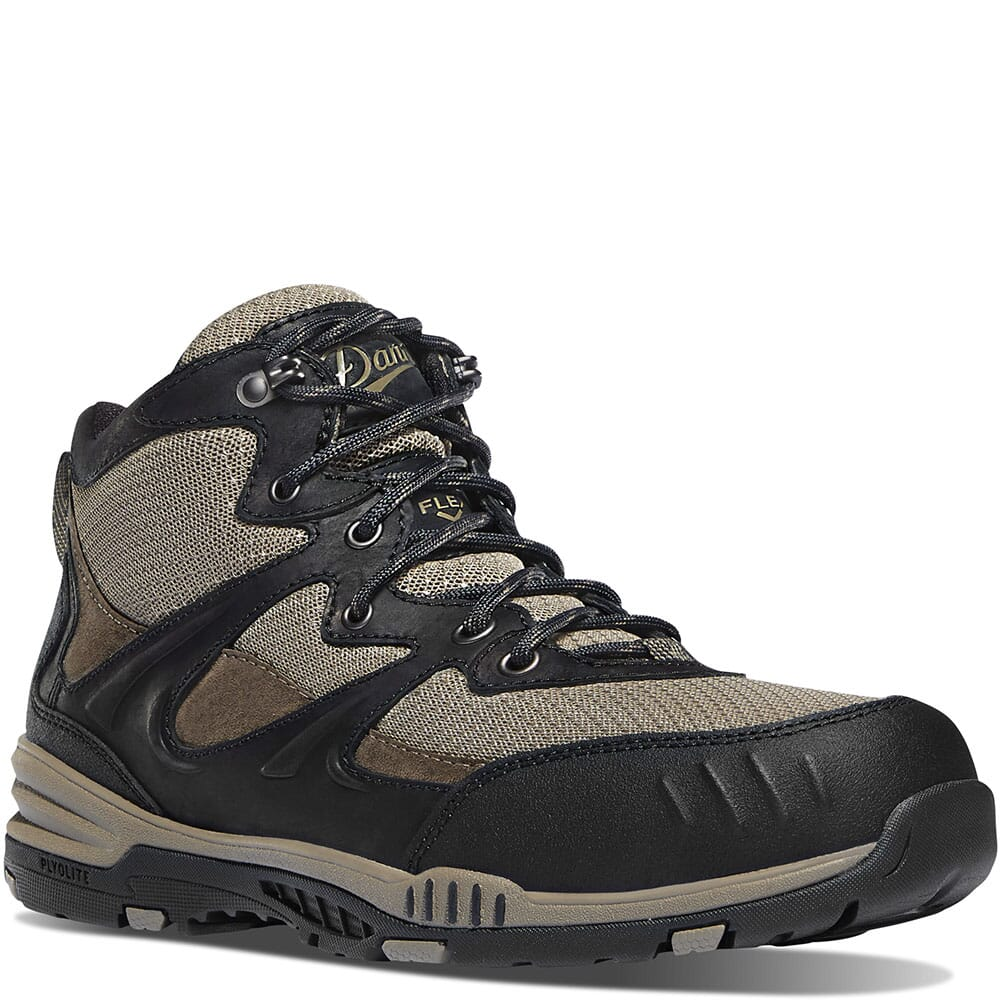Image for Danner Men's Springfield Safety Boots - Black/Tan from bootbay