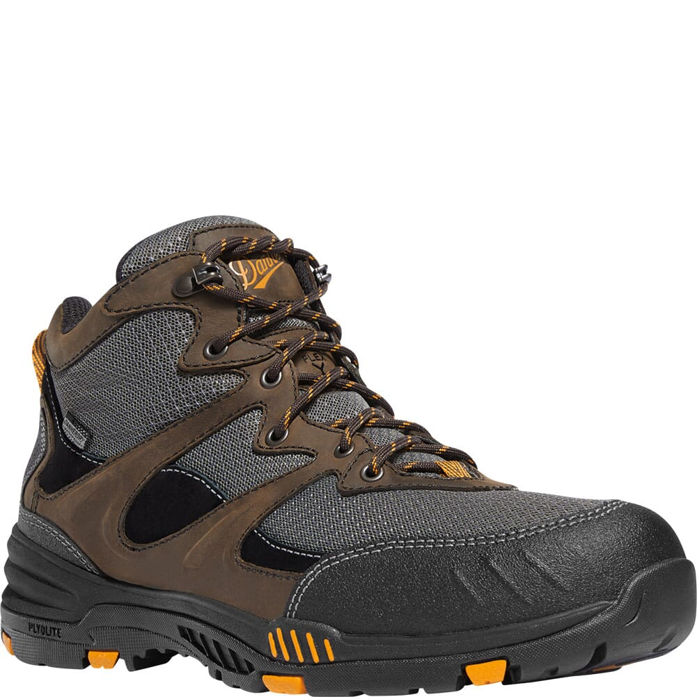 Image for Danner Men's Springfield Safety Boots - Brown/Orange from bootbay