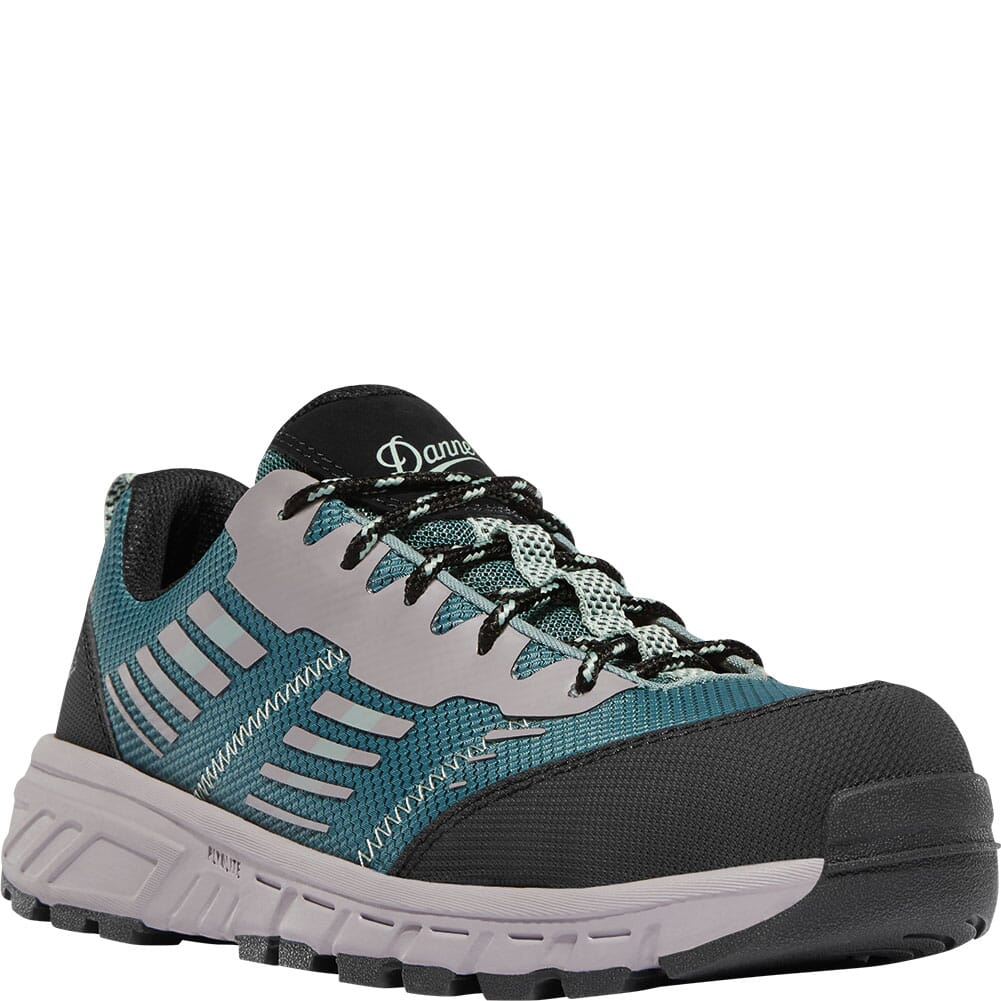 Image for Danner Women's Run Time NMT Safety Shoes - Teal from bootbay