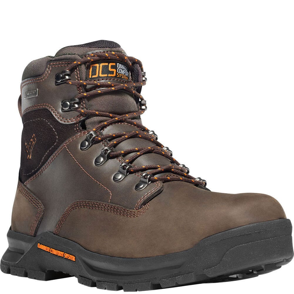 Image for Danner Men's Crafter 6IN Work Boots - Brown from bootbay