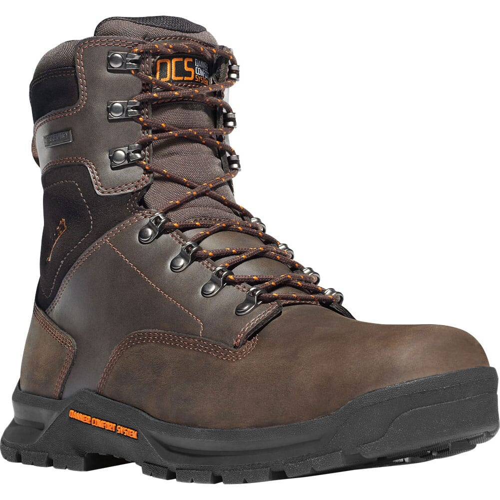 Image for Danner Men's Crafter 8IN WP Safety Boots - Brown from bootbay