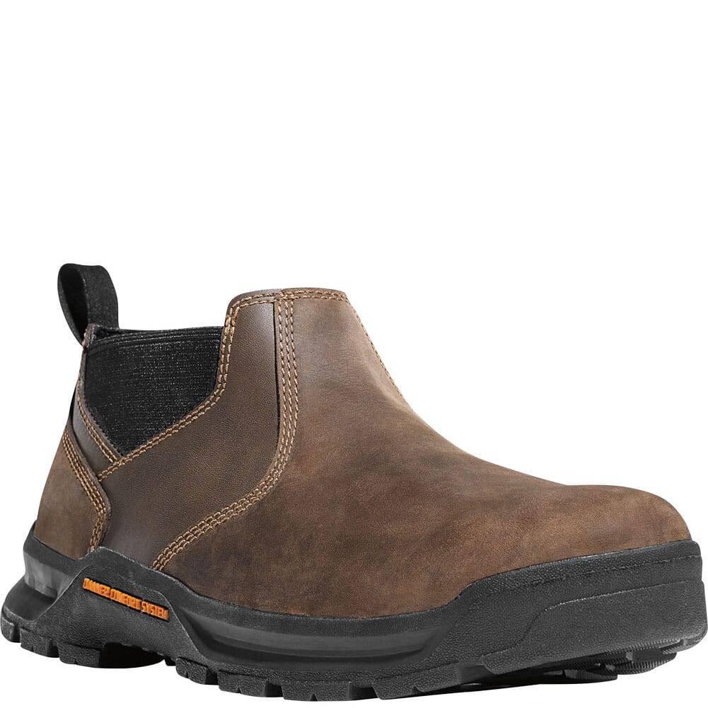 Image for Danner Men's Crafter Romeo Work Shoes - Brown Hot from bootbay