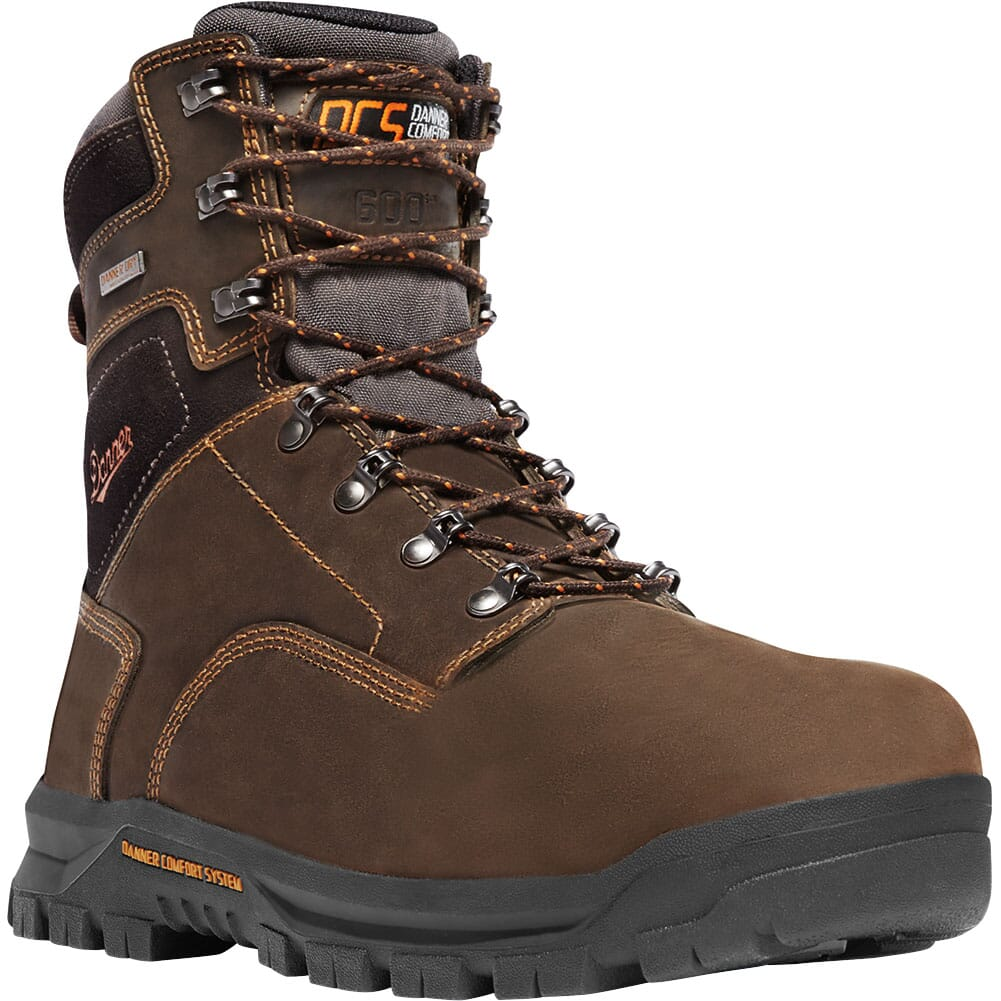 Image for Danner Men's Crafter Safety Boots - Brown from bootbay