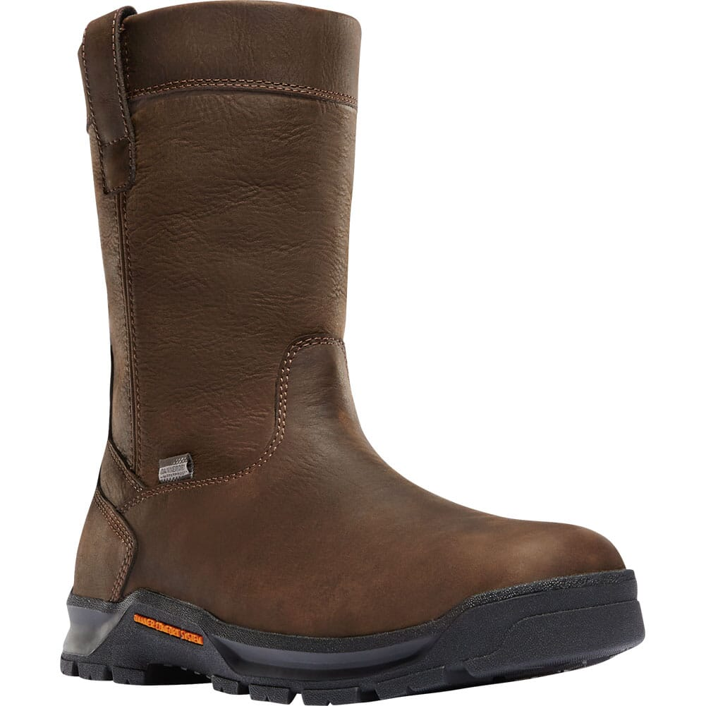Image for Danner Men's Crafter Wellington Safety Boots - Brown from bootbay