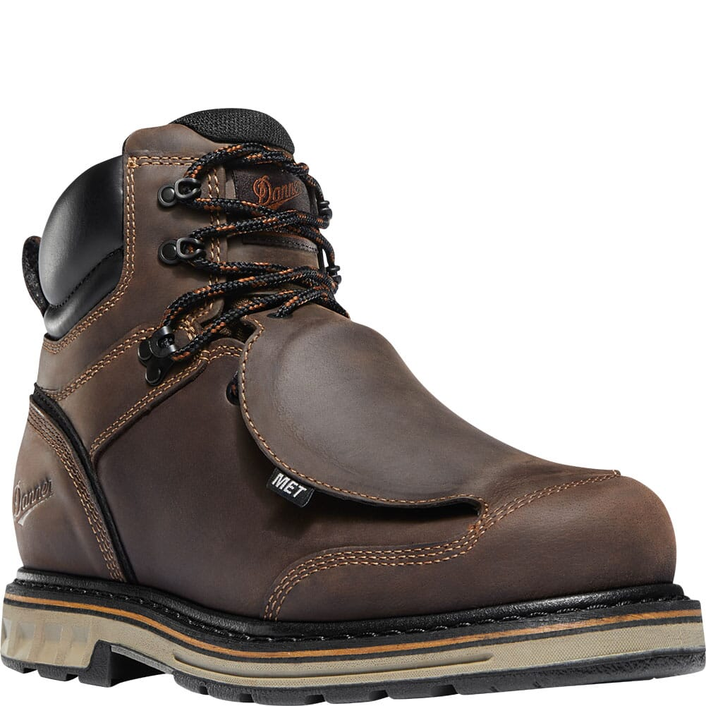 Image for Danner Men's Steel Yard Met Guard Safety Boots - Brown from bootbay