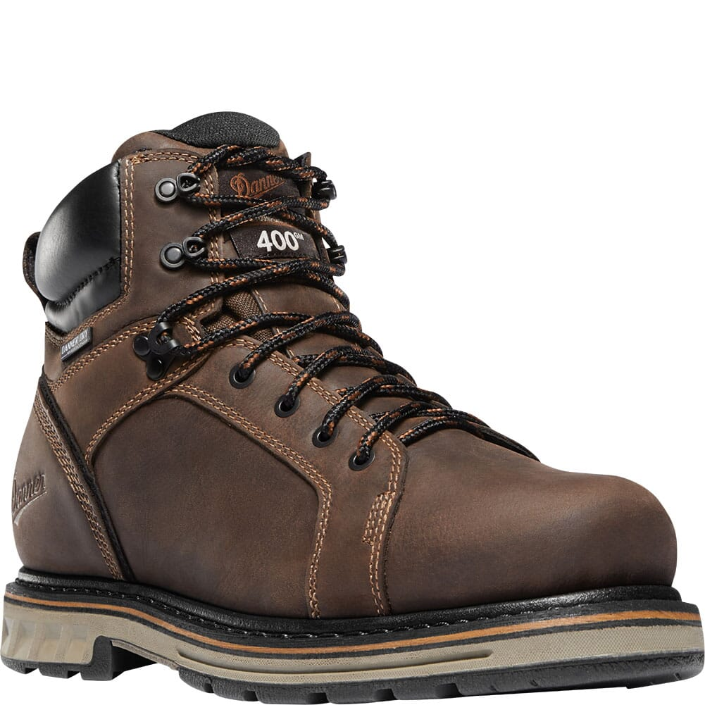 Image for Danner Men's Steel Yard Insulated Safety Boots - Brown from bootbay