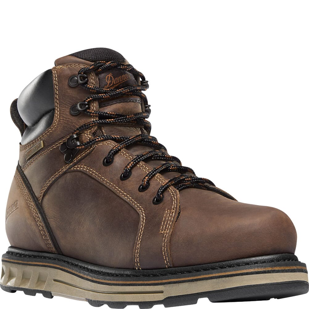 Image for Danner Men's Steel Yard WP Wedge Safety Boots - Brown from bootbay