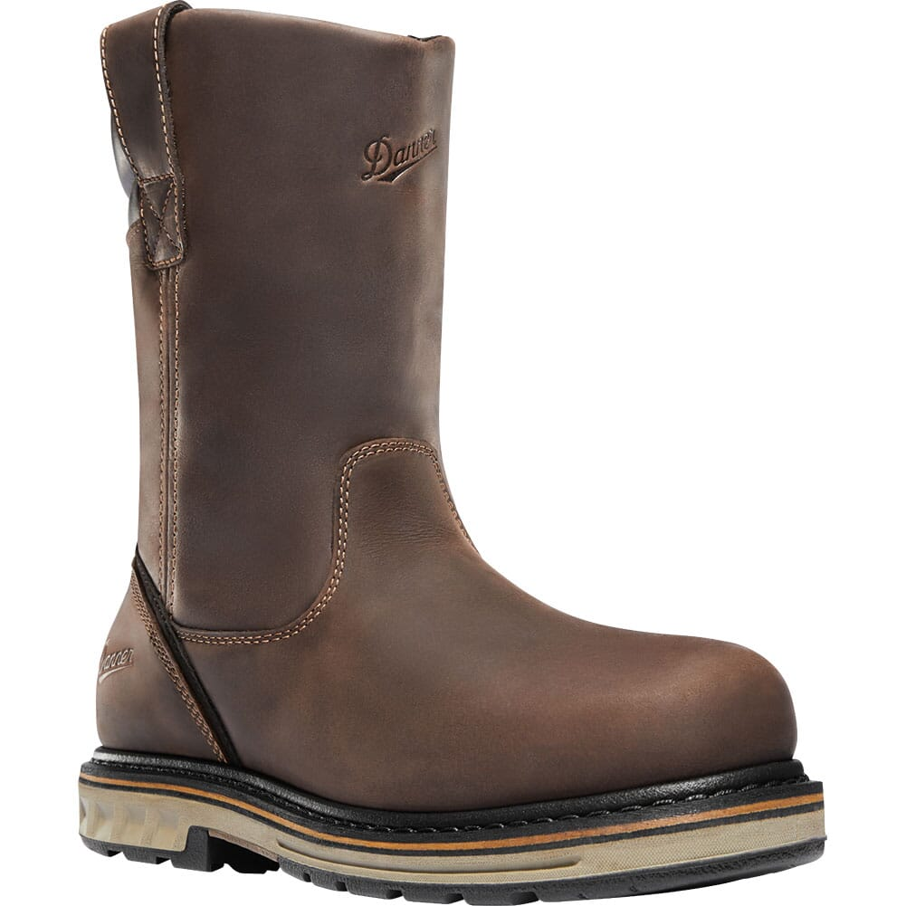 Image for Danner Men's Steel Yard WP Pull On Work Boots - Brown from bootbay