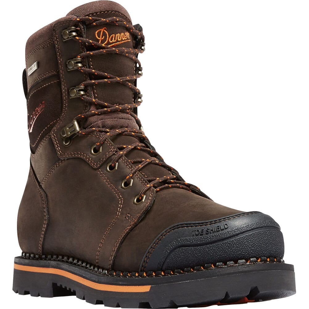 Image for Danner Men's Trakwelt WP SR EH Work Boots - Brown from bootbay