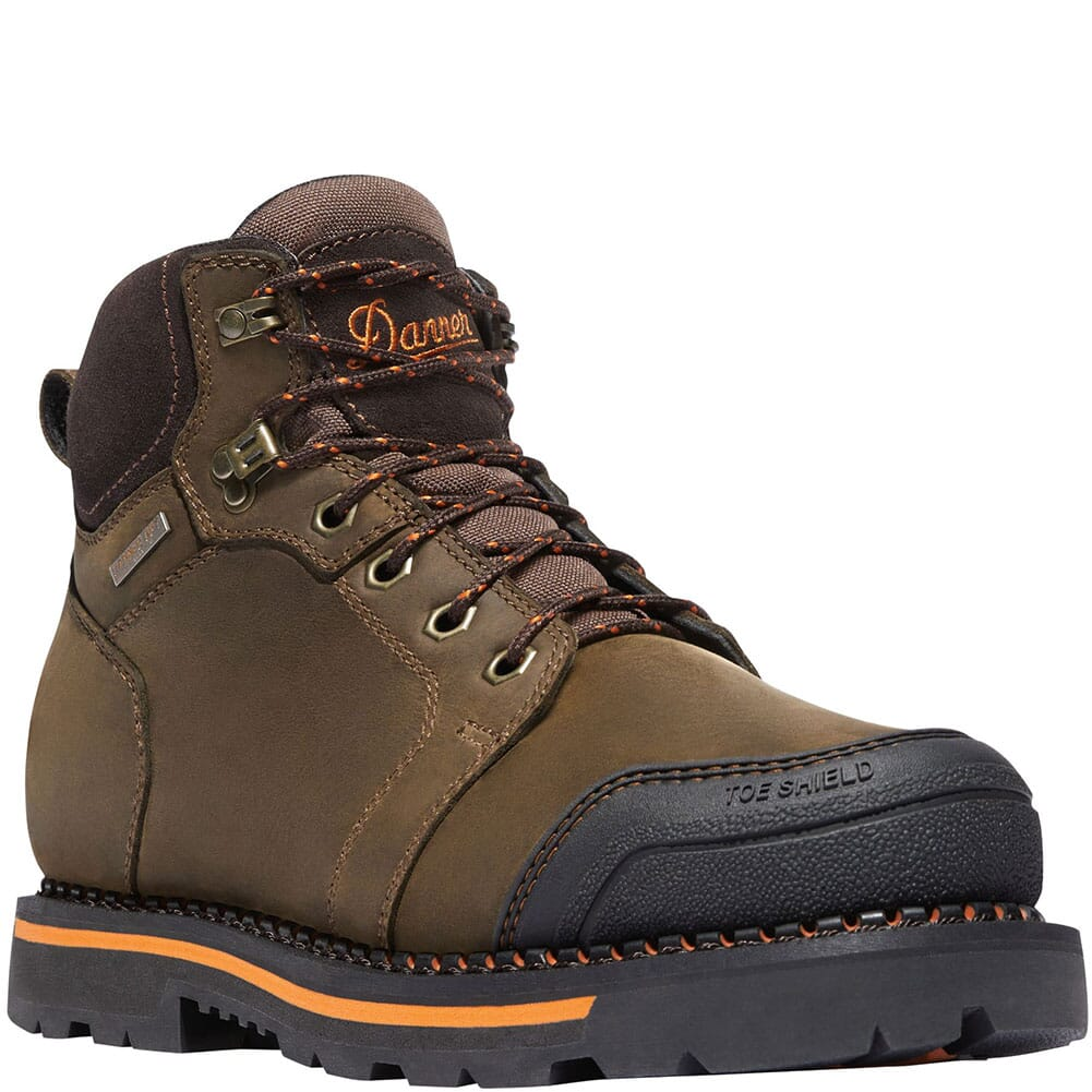 Image for Danner Men's Trakwelt Safety Boots - Brown from bootbay