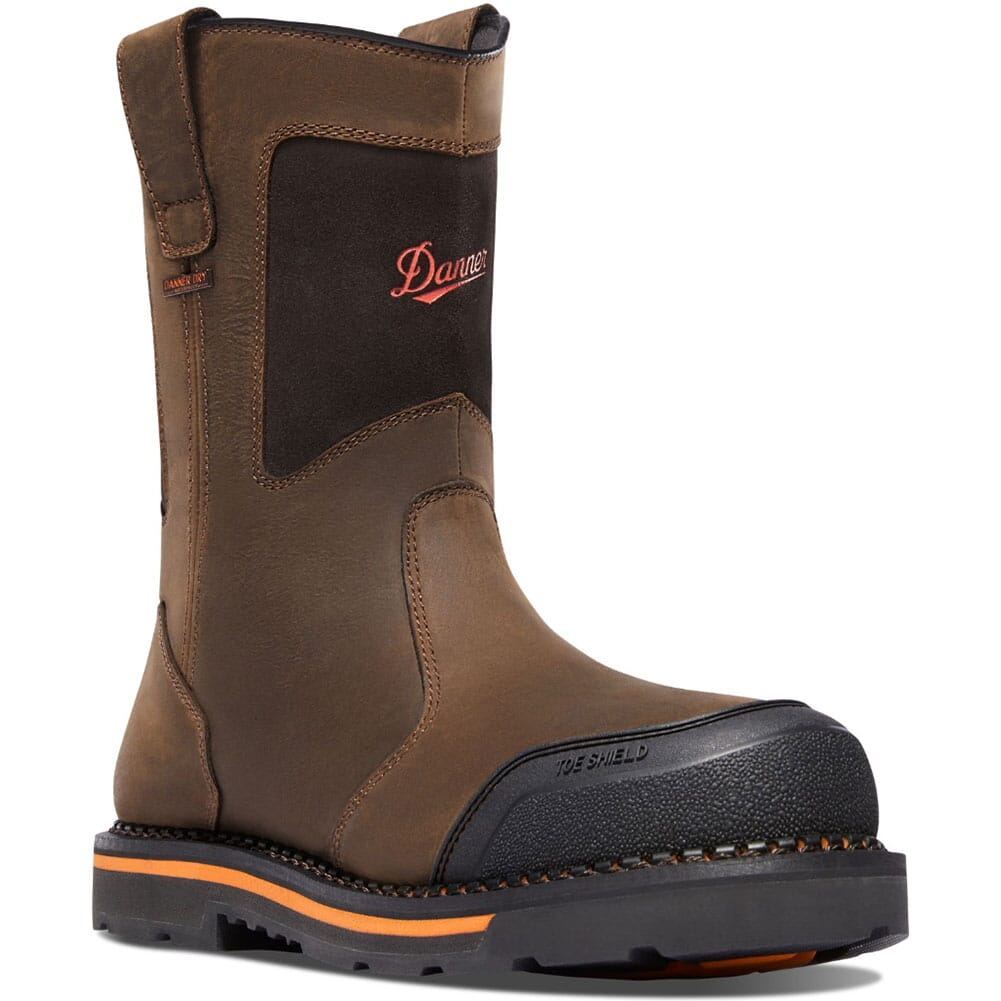 Image for Danner Men's Trakwelt EH Work Boots - Brown from bootbay