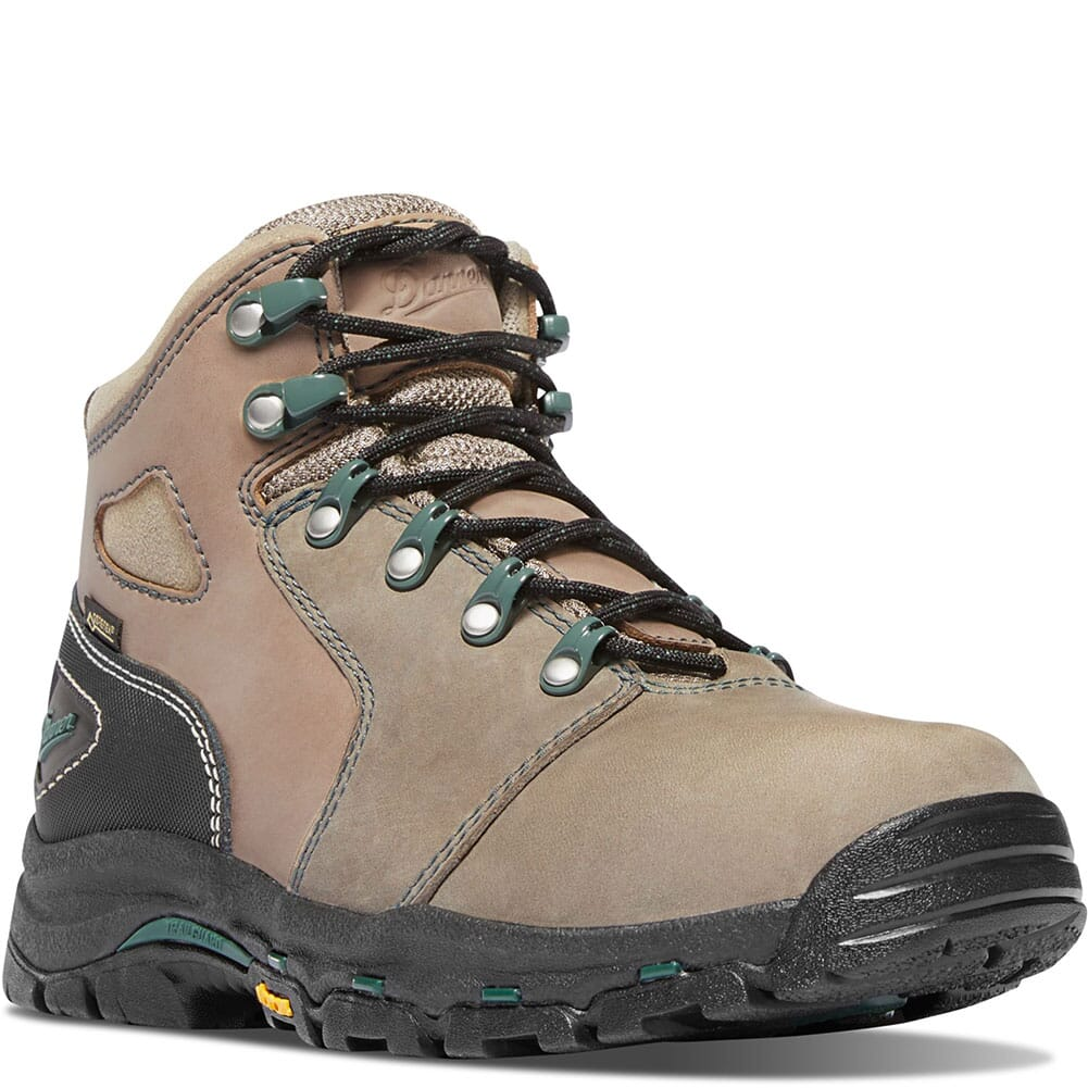 Image for Danner Women's Vicious GTX Safety Boots - Brown/Green from bootbay